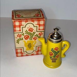 Vintage Avon coffee pot bath oil